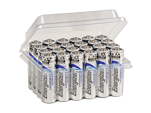 24x Energizer AA-Batterien Ultimate Lithium L91 für Blitzlicht Wildkamera Mignon im Big Box Pack von wns-emg-world - 1