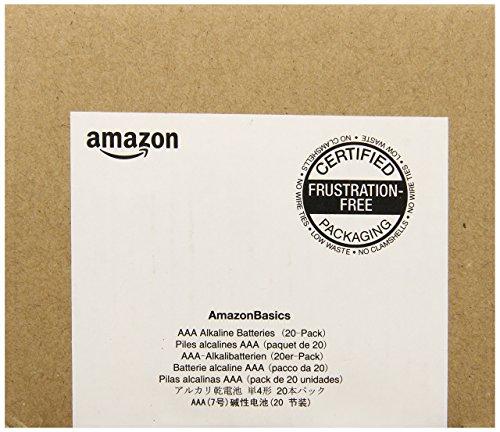 AmazonBasics Alkalibatterien, AAA, 20 Stück - 3