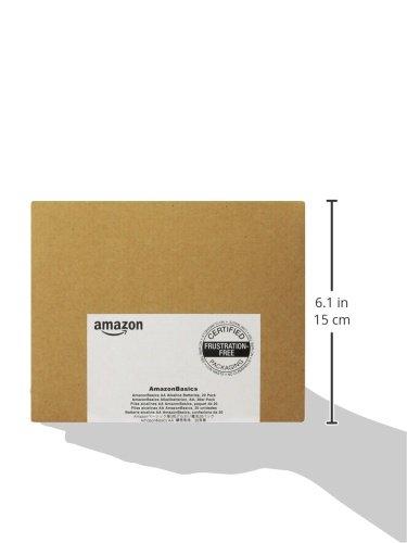 AmazonBasics Performance Alkalibatterien, AA, 20 Stück - 5