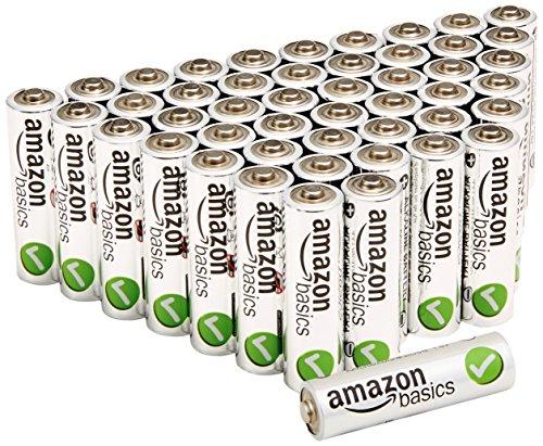 AmazonBasics Performance Alkalibatterien, AA, 48 Stück - 1