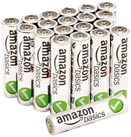 AmazonBasics Performance Alkalibatterien, AAA, 20 Stück - 1