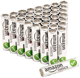 AmazonBasics Performance Alkalibatterien, AAA, 36 Stück - 1