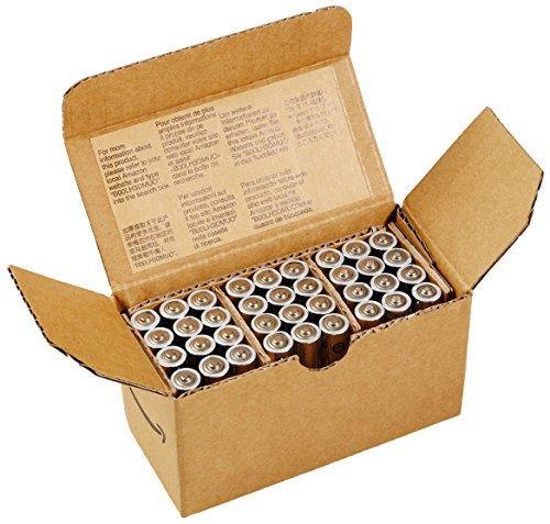 AmazonBasics Performance Alkalibatterien, AAA, 36 Stück - 4