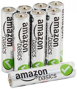 AmazonBasics Performance Alkalibatterien, AAA, 8 Stück - 1