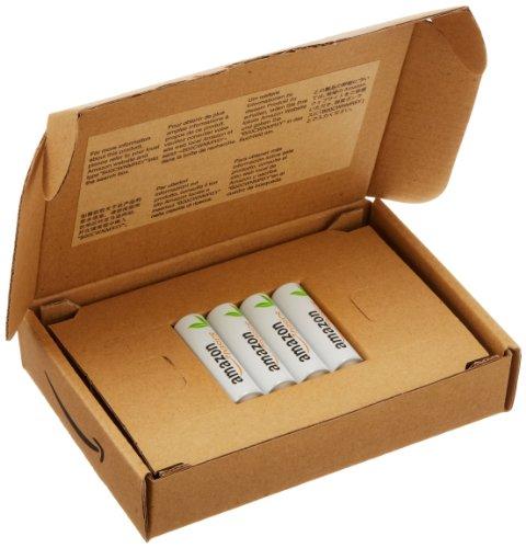 AmazonBasics Vorgeladene Ni-MH-Akkus, AA (1.000 Zyklen, typisch 2000mAh, minimal 1900mAh) 4 Stück - 2