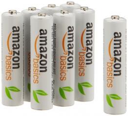 AmazonBasics Vorgeladene Ni-MH-Akkus, AAA (1.000 Zyklen, typisch 800mAh,  1.2 V ,minimal 750mAh) 8 Stück - 1