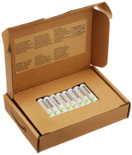 AmazonBasics Vorgeladene Ni-MH-Akkus, AAA (1.000 Zyklen, typisch 800mAh,  1.2 V ,minimal 750mAh) 8 Stück - 2