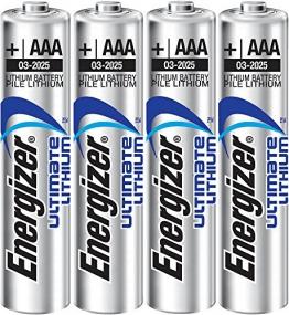 Batterie Lithium Mikro AAA Energizer L92 - 4er Blister LR 03 E 4-BL Energizer Lithium L92 - 1