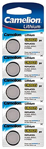 Camelion CR2025-BP5 - Batterien (Button/coin, CR2025, Lithium, Edelstahl, Blister) - 1