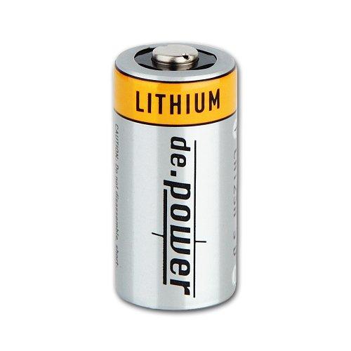 CR123A de.power Lithium Photobatterien Batterien 6(3x2) Stück - 3