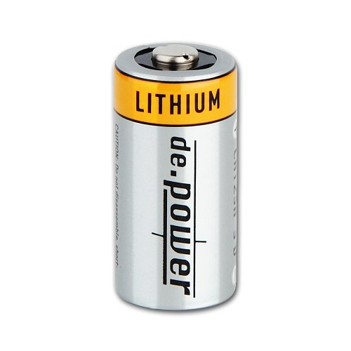 de.power CR123A Lithium Batterien, 12 Stück - 3