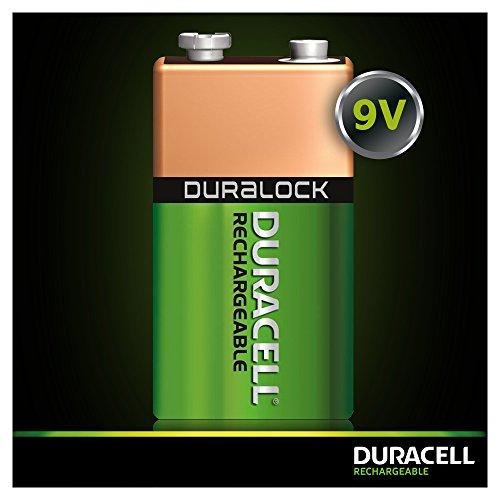 Duracell Akku 9V (HR22) 170 mAh 1er (wiederaufladbare Batterie) - 4