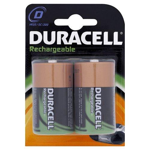 Duracell Akku D (HR20) 2.200 mAh 2er (wiederaufladbare Batterie) - 1