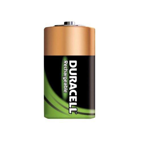 Duracell Akku D (HR20) 2.200 mAh 2er (wiederaufladbare Batterie) - 2