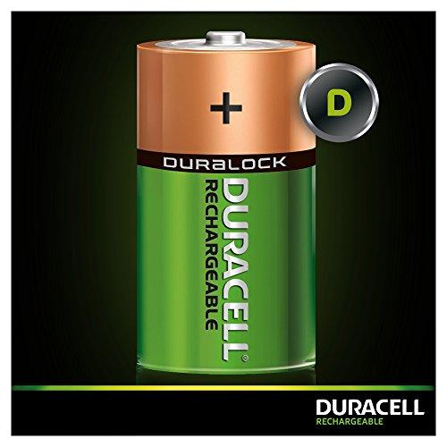 Duracell Akku D (HR20) 2.200 mAh 2er (wiederaufladbare Batterie) - 3