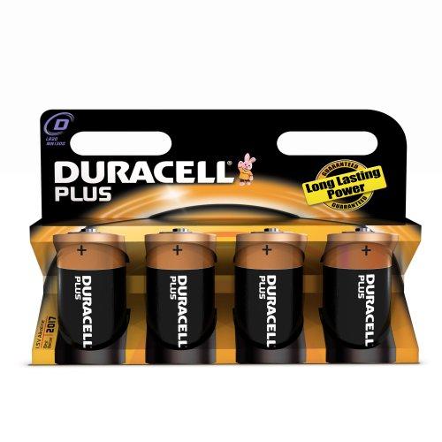 Duracell Batterie Plus Mono D (LR20) 1,5V im 4er Pack - 1