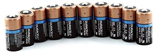 Duracell CR123-BU-10 Photobatterien (10 Stück, 3V) - 1