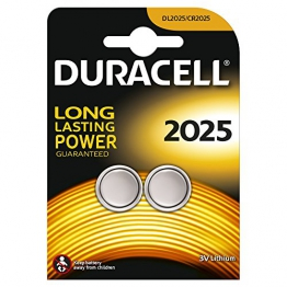 Duracell DL2025B2 Coin Cell 3v, 2er Pack - 1