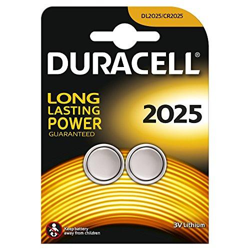 Duracell DL2025B2 Coin Cell 3v, 2er Pack - 1