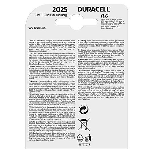 Duracell DL2025B2 Coin Cell 3v, 2er Pack - 2