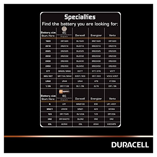 Duracell DL2025B2 Coin Cell 3v, 2er Pack - 4