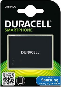 Duracell DRSI9100 Ersatzakku Zusatzbatterie für Samsung Galaxy S2 Smartphone - 1