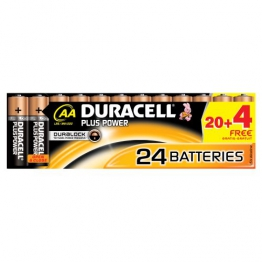 Duracell DUR018426 Plus Power AA Batterien (24 Stück) - 1