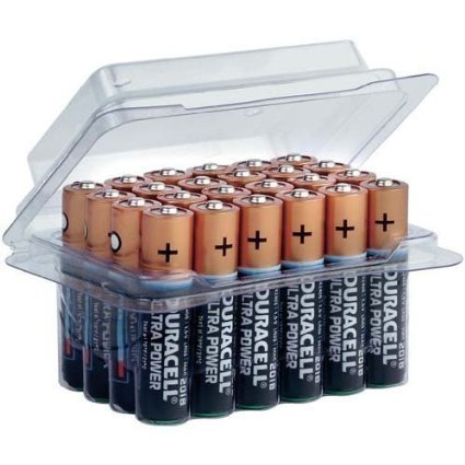 Duracell DURAUL24AAA Ultra Power Batterien (AAA, Micro, LR03, 24er Box) - 1