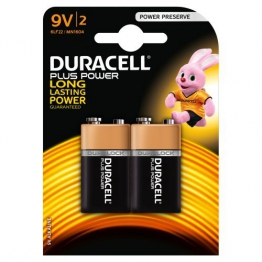 Duracell Plus Power Alkaline Batterien 9V (MN 1604) 2er Pack - 1
