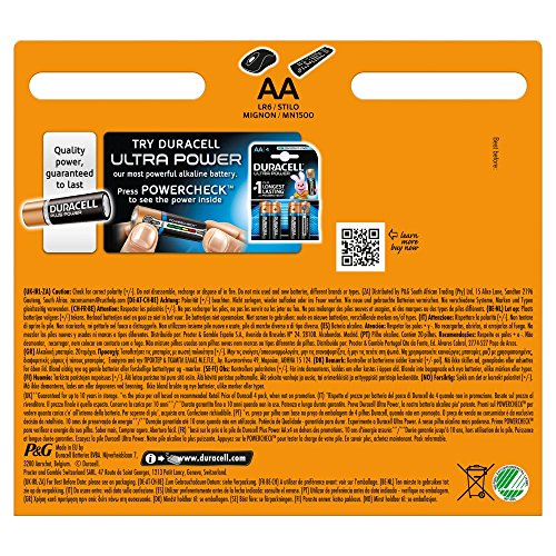 Duracell Plus Power Alkaline Batterien AA (MN1500/LR6) 15+5 Special Offer Pack - 2