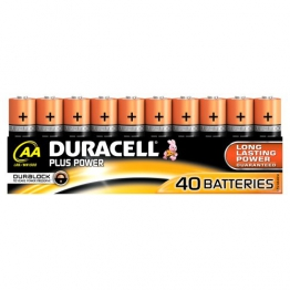 Duracell Plus Power Batterie AA (MN1500/LR06) 40er - 1