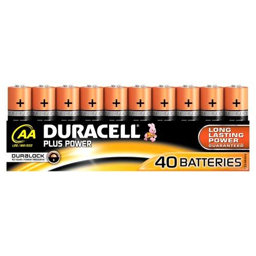 Duracell Plus Power Batterie AA (MN1500/LR06) 40er - 1