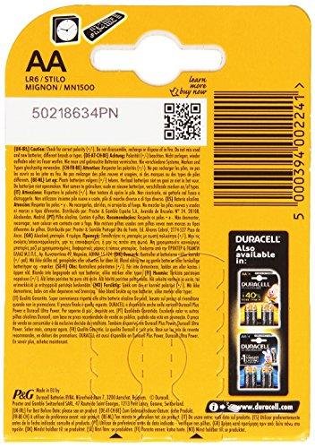 Duracell SIMPLY Batterie AA (MN1500/LR6) 4er - 2