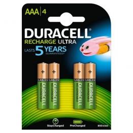 Duracell StayCharged Akku AAA (HR03) 800 mAh 4er Precharged (vorgeladene wiederaufladbare Batterie) - 1