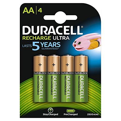 Duracell Ultra HR6 AA Akkus mit geringer Selbstentladung (2400mAh) 4er Pack - 1