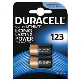 Duracell Ultra Lithium  Batterie 123 (CR17345) 2er - 1