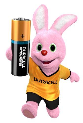 Duracell Ultra Power Alkaline Batterien mit Powercheck AA (MX1500/LR6) 12 Stück Pack - 4