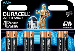 Duracell Ultra Power Alkaline Batterien mit Powercheck AA (MX1500/LR6) 8er Pack - 1