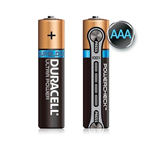 Duracell Ultra Power Alkaline Batterien mit Powercheck AAA (MX2400/LR03) 8er Pack - 5