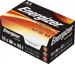 ENERGIZER Batterie ULTRA+ AA/LR6 mignon/624760 Inh.40 - 1