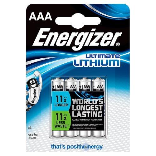 Energizer Batterien Ultimate Lithium digital/629612 Micro Inh.4 - 1