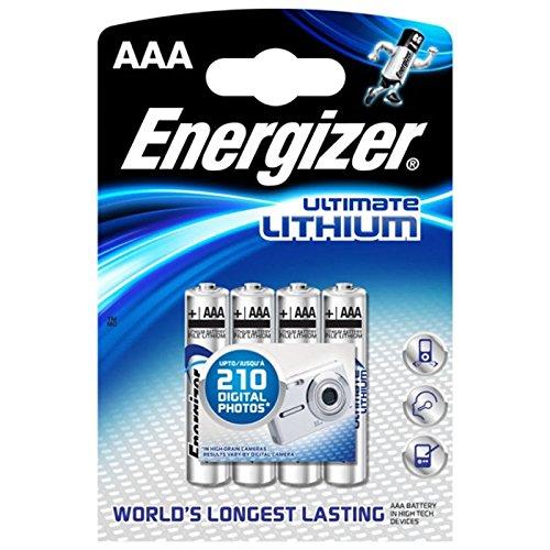 Energizer Batterien Ultimate Lithium digital/629612 Micro Inh.4 - 2
