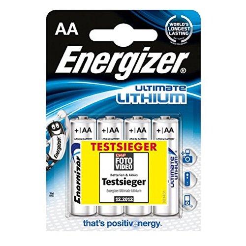 Energizer Batterien Ultimate Lithium digital/639155 Inh.4 - 1