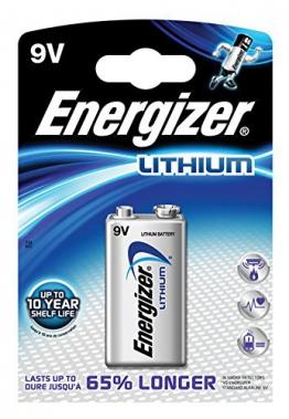 Energizer Lithium 9V-Block - 1