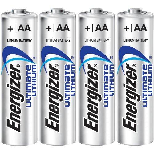 Energizer LITHIUM AA Ultimate Lithium L91 (FR6, 3+1-er Blister) - 1