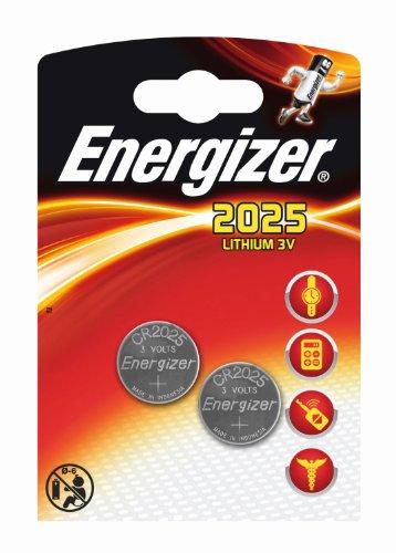 Energizer Original Batterie Lithium CR 2025 (3 Volt, 5x 2-er Pack) - 2