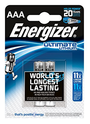 Energizer Ultimate Lithium Micro AAA 1,5V (2 Stück) - 1