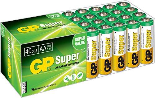 GP LR06 Mignon AA Super Alkaline (40-er Pack) - 1
