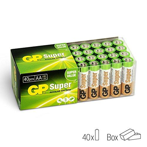 GP LR06 Mignon AA Super Alkaline (40-er Pack) - 2