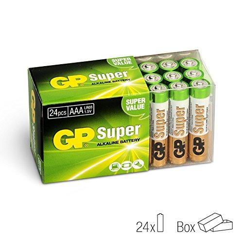 GP Micro AAA Super Alkaline Batterien im 24-er Vorteils-Pack (LR03 Multipack 24 Stück) - 2